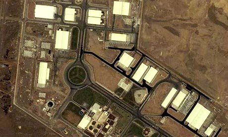 Uran-Anreicherungsanlage in Natanz (Zentral-Iran)