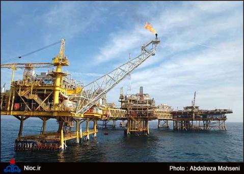 NIOC Förderanlage im Persischen Golf