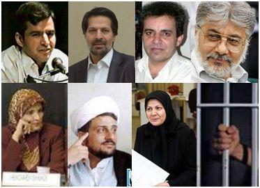 Inhaftierte Journalisten