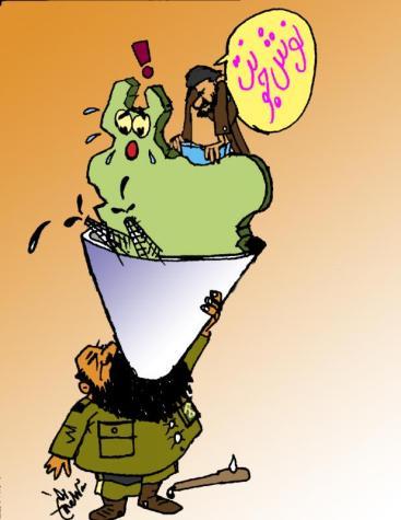 IRGC-Kommandeur Rostam Ghassemi: Guten Appetit!