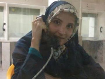 Hengameh Shahid in Evin prison