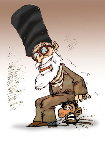 Ahmadinedjad 3 Jahre nach der gefälschten Wiederwahl (Nikahang Kowsar)