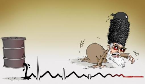 Khamenei und sinkende Ölexporte (Eghbal Mahvari)