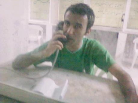 Abolfazl Abedini im Evin-Gefängnis