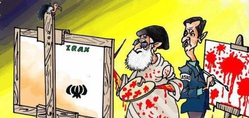 Khamenei und Assad