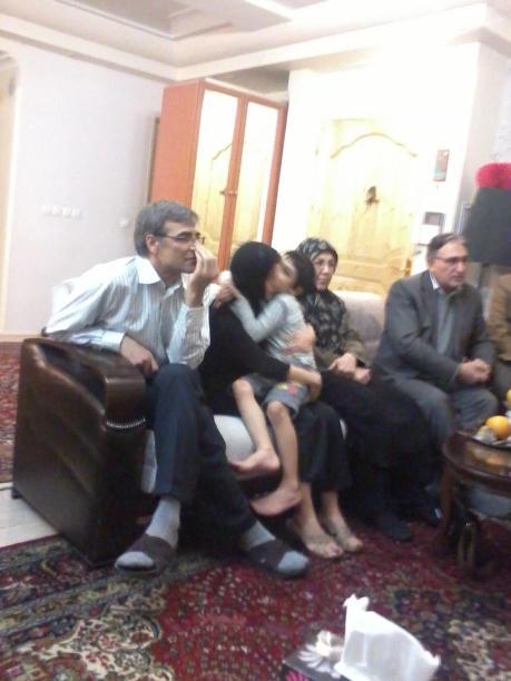 Nasrin Sotoudeh nach der Freilassung