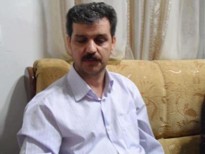 Reza Shahabi im Hafturlaub