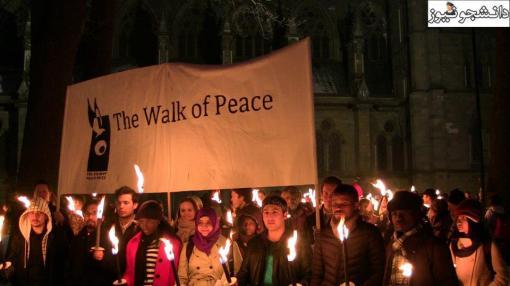 Friedensmarsch für Majid Tavakkoli, Norwegen
