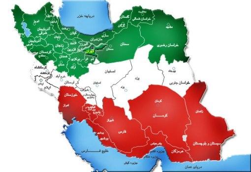 Iran Karte Weder Syrien noch Libanon