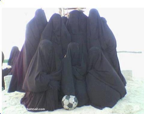 Frauen-Fußballteam von Qom