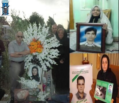 Gedenken an Protestopfer vor Nouruz