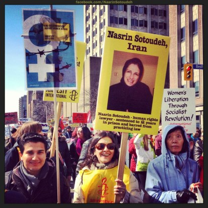 IWD in Toronto, 9 March 2013