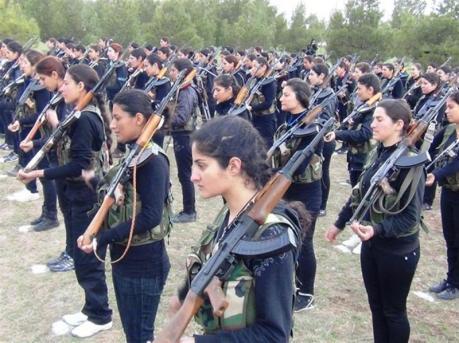 kurdisches frauenbataillon syrien