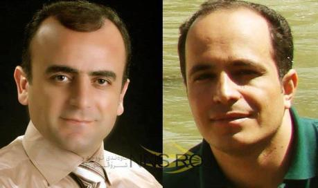 Kurdish journos Khosrow Kordpour and Ghasem Ahmadi