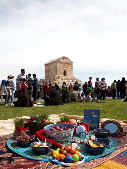 Kyros-Grab Nouruz