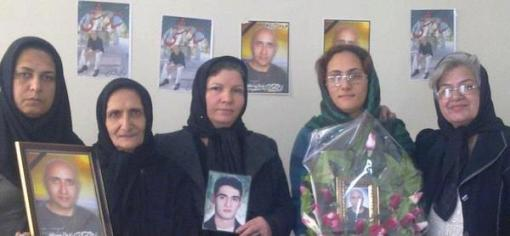 Mourning Mothers of Laleh Park