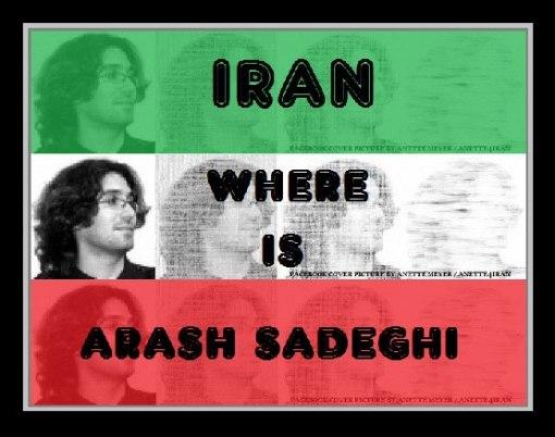 wo ist arash sadeghi
