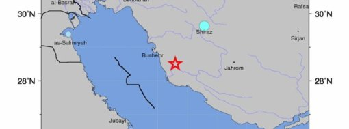6.3 earthquake hits Bandar Bushehr region of Iran