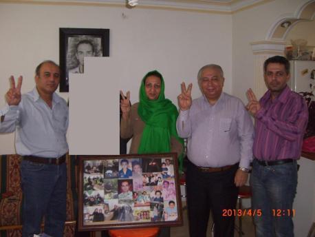 Nouruz-Besuch bei Familie von Mostafa Karimbeygi