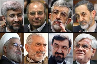 8 Kandidaten