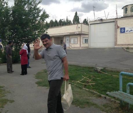 Journo Bahman Ahmadi Amouei vor Rejayi Shahr