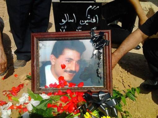 Beerdigung des Gewerkschafters Afshin Osanloo