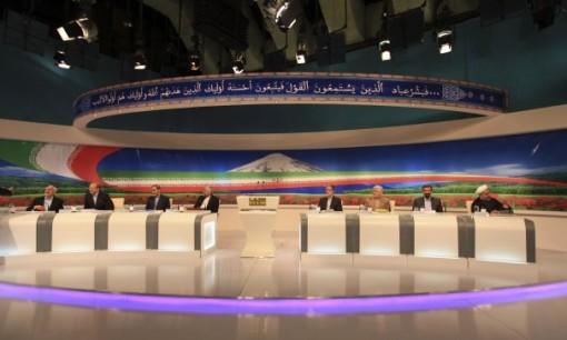 IRIB TV-Debatte - Mehdi Dehghan, AP