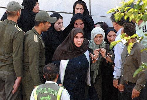 Jila Bani Yaghoubs Verhaftung