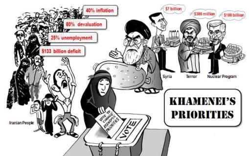 Khameneis Prioritäten