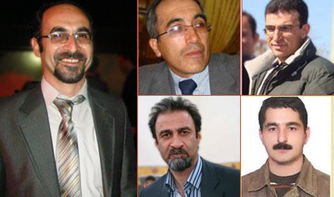 5 Azeri Aktivisten in Haft