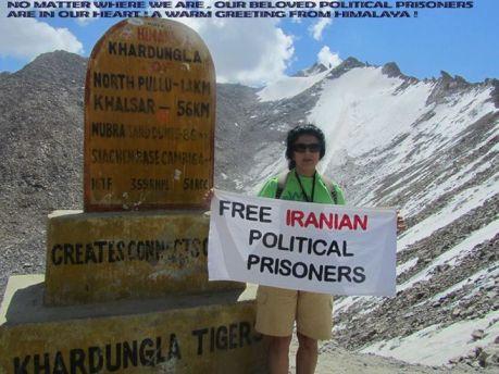 Free pol prisoners Fariba Shojaei