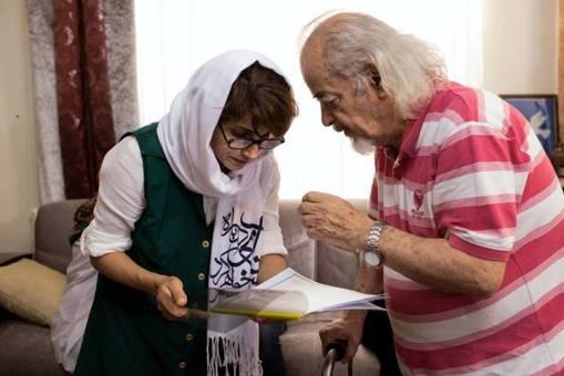 Nasrin mit Mohammad Maleki
