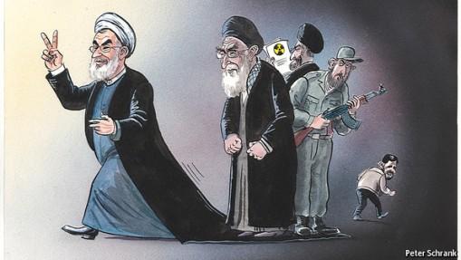 Rouhani und Khamenei