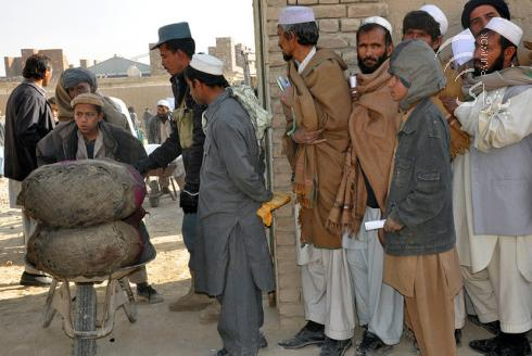 Abschiebung afghanischer Flüchtlinge aus Iran