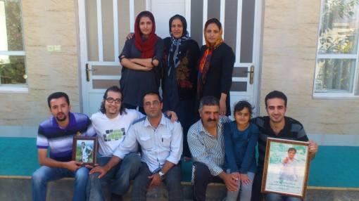 Aktivisten besuchen Familie von Zia Nabavi