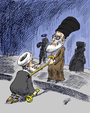 Kowsar Khamenei Ritterschlag für Rouhani