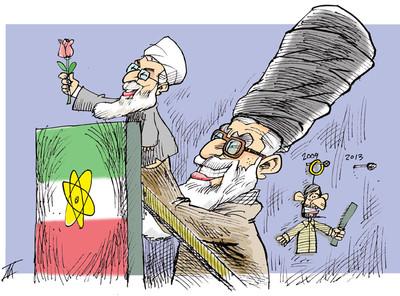 Kowsar - Khamenei va Rouhani Atomstreit