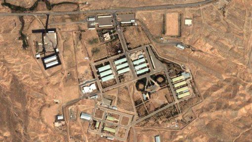 Satellitenbild des Militärkomplexes von Parchin