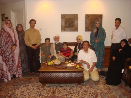 Karroubi bei Sohn
