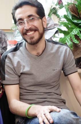 Majid Dorri im Hafturlaub