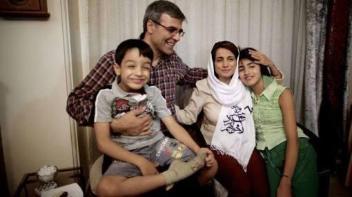 Nasrin Sotoudeh mit Familie