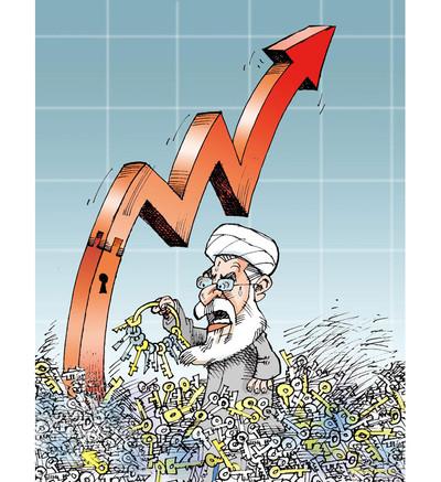 Rouhani und Inflation - Kowsar