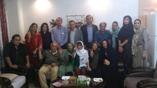 Angehörige der Protestopfer bei Nasrin Sotoudeh