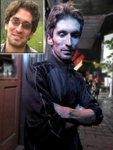 Arash Sadeghi vor und nach prison