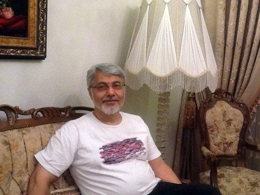 Issa Saharkhiz nach Freilassung