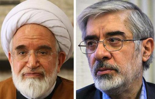 Moussavi und Karroubi
