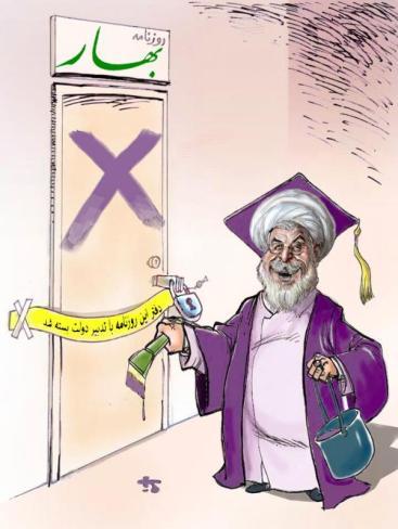 Rouhanis moderate Pressepolitik