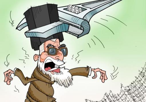Khamenei France Druck