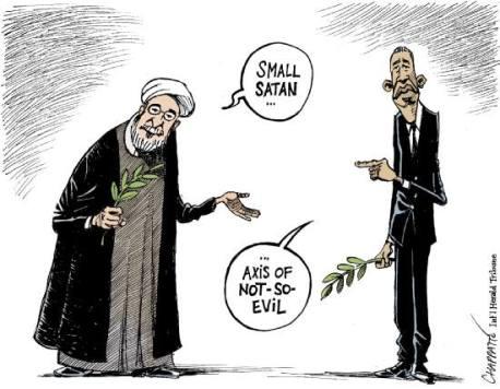 Rouhani und Obama