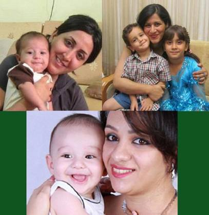 3 Bahai Mütter frei